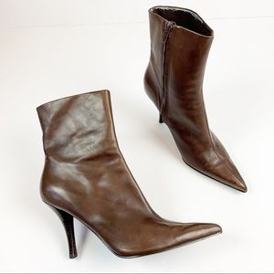 Nine West Shoes - Nine West Pointy Toe BHAVIN Leather Boots | 8.5M
